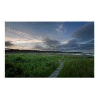 Customizable Poster: Outer Banks Boardwalk Poster