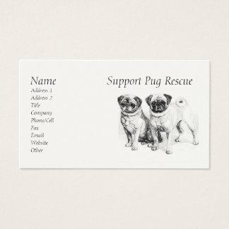 Customizable Precious Pugs Business Cards