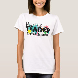 Customizable Preschool Teacher Shirt
