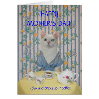 Customizable Pretty Cat/Kitty Mother's Day