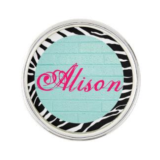 Customizable Pretty Little Lapel Pin
