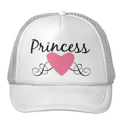 CUSTOMIZABLE Princess Heart Trucker Hat