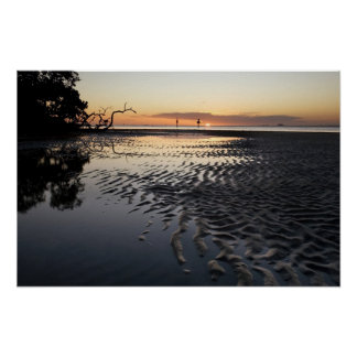 Customizable Print: Low Tide Sunset