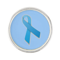 Customizable Prostate Cancer Lapel Pin