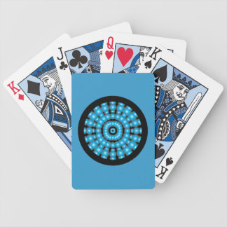 Customizable Psychedelic Spheres Dartboard Bicycle Playing Cards