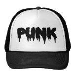 Customizable Punk Drip Front Mesh Hats