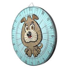 Customizable Puppy Cartoon Dartboards