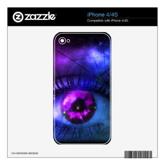 Customizable Purple Halloween Nightmare iPhone 4S Skins