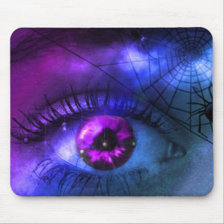 Customizable Purple Halloween Nightmare Mouse Pad