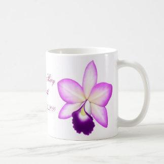 Customizable Purple Orchid Mug