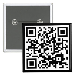 customizable QR code 2 Inch Square Button