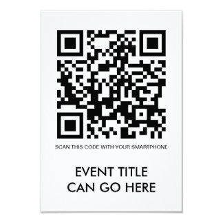 customizable QR code Card