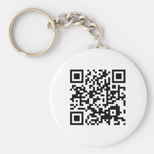 customizable QR code Keychain