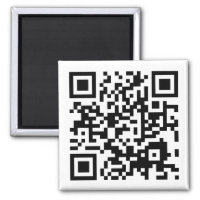 customizable QR code Magnet