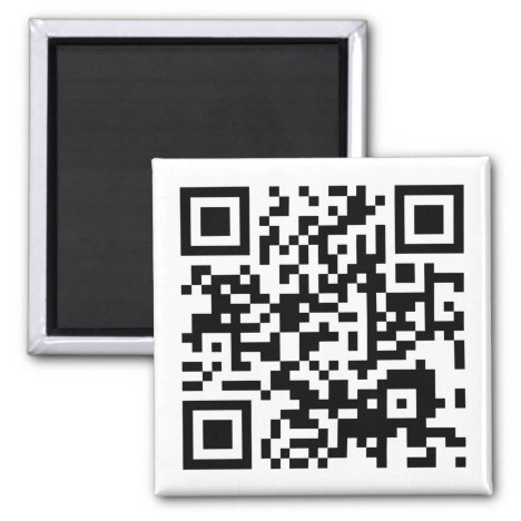 customizable QR code Magnet