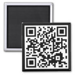 customizable QR code Magnets
