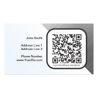 Customizable QR code marketing piece Business Card