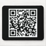 customizable QR code Mouse Pad