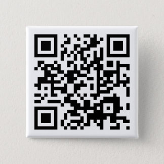 customizable QR code Pinback Button