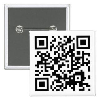 customizable QR code Pinback Button