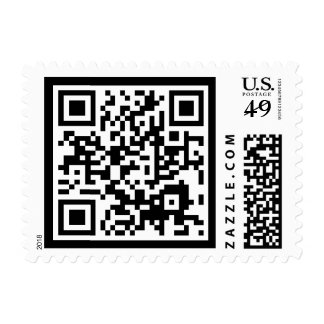 customizable QR code Stamps