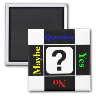 Customizable Question Mark Magnet