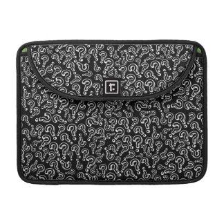 Customizable Question Marks MacBook Pro Sleeve
