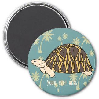 Customizable Radiated Tortoise Magnet 2
