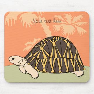 Customizable Radiated Tortoise Mouse Pad