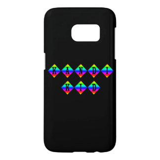 Customizable Rainbow Kandi Kid Samsung Galaxy S7 Case