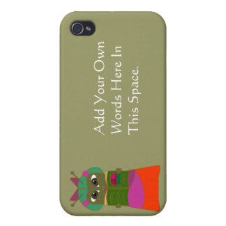 Customizable Reading Bug  Cover For iPhone 4