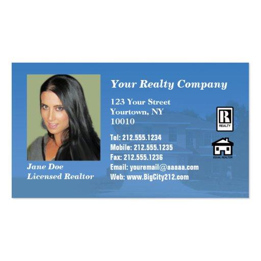 CUSTOMIZABLE Realtor BC Business Card Templates