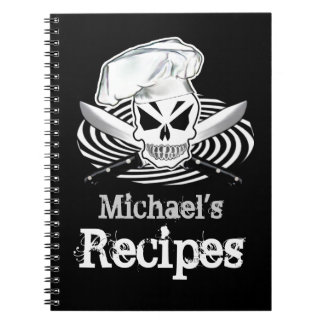 Customizable Recipe Book Spiral Note Book