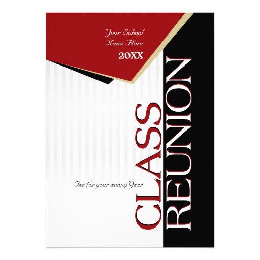 Personalized College reunion Invitations CustomInvitations4Ucom