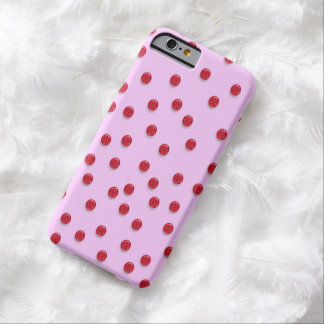 Customizable Red Glitter Dots iPhone 6 Case
