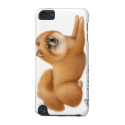 Case-Mate Barely There 5th Generation iPod Touch Case with Pomeranian Phone Cases design