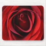 Customizable Red Rose Up Close Mousepad