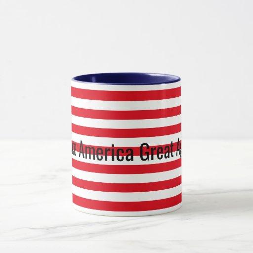 customizable red white blue make america great mug zazzle. Black Bedroom Furniture Sets. Home Design Ideas