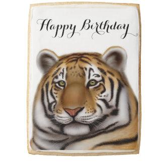 Customizable Regal Bengal Tiger Jumbo Cookie