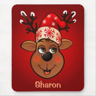 Customizable Reindeer Mouse Pad