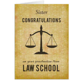 Customizable Relationship, Law School Graduation C Card