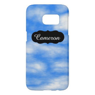Customizable Relaxing Blue Sky Clouds SG7 Case
