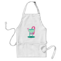 Customizable Retro 50's Sign Adult Apron