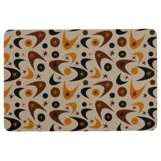 Customizable Retro Boomerangs Floor Mat