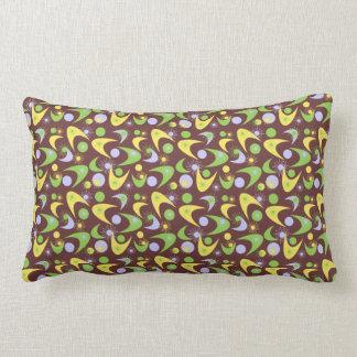 Customizable Retro Boomerangs Throw Pillow
