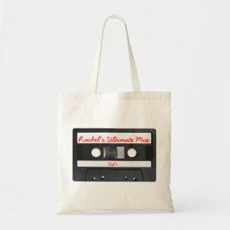 Customizable Retro Cassette Tape Tote