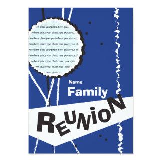 Customizable Retro Family Reunion Invitation
