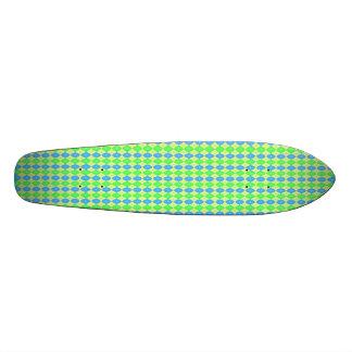 Customizable Retro Ovals Skateboard