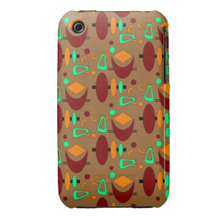 Customizable Retro Shapes Case-Mate iPhone 3 Case