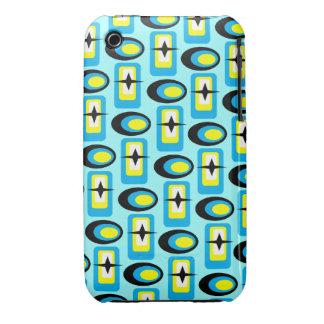 Customizable Retro Shapes Case-Mate iPhone 3 Cases